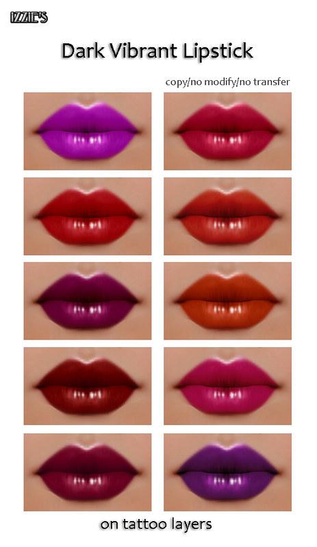 Dark Vibrant Lipstick