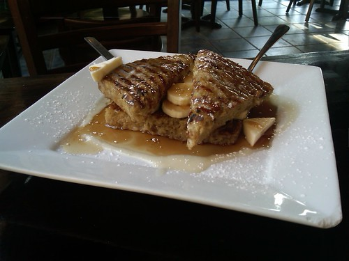 Vegan Bananas Foster French Toast by njburgart