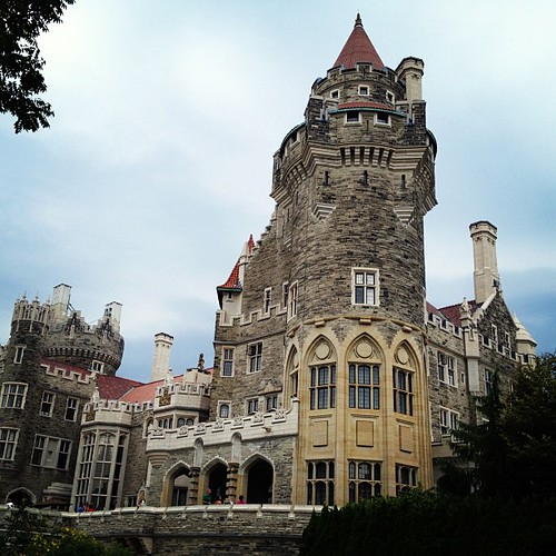 Casa Loma. Beautiful Castle! Former home to Canadian financier Sir Henry Pellatt