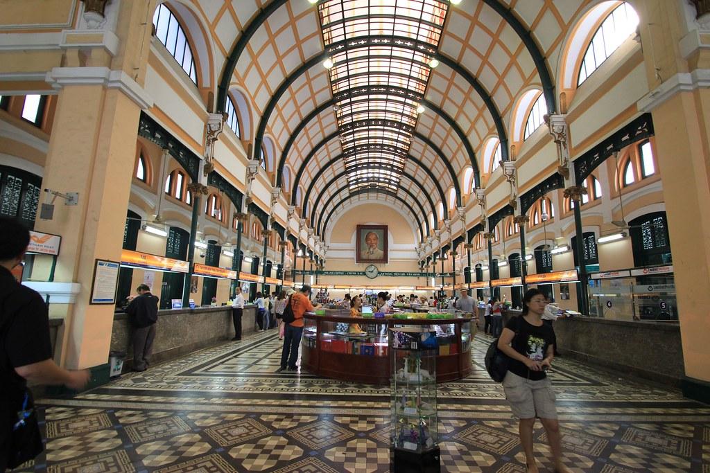 General Post Office - Ho Chi Minh City, Vietnam