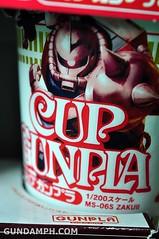 Char Zaku Nissin Cup Gunpla 2011 OOTB Unboxing Review (7)