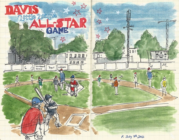 davis t-ball all-star game