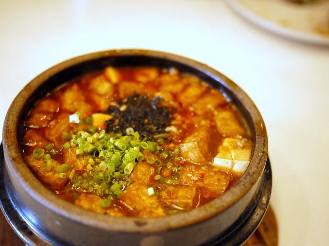 Chow Fun- mapo tofu P185