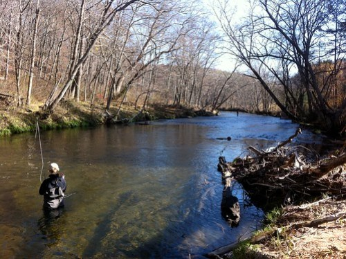 Fall Fishing on the Gunpowder River