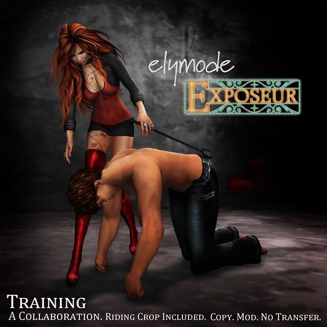 elymode & exposeur pose fair collaboration