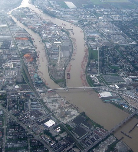 Fraser River from the Air - ttcopley