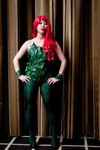 Vivian as Poison Ivy