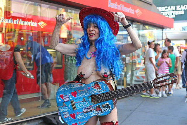 This Naked cow girl nyc simply