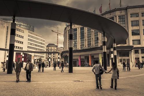 Bruxelles Central - Photo : Gilderic