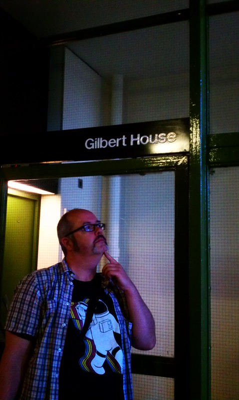 Gilbert's found his home at The Gilbert House at The Barbican Centre