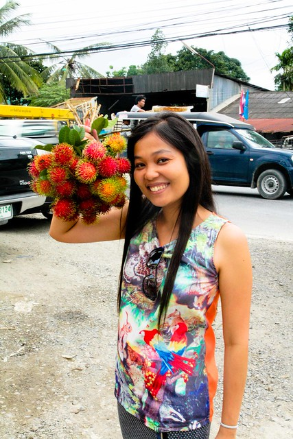 bouquet of rambutan
