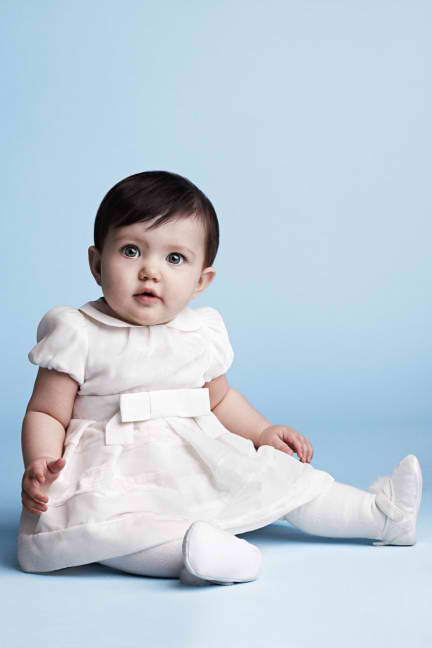 armani Junior newborn dress