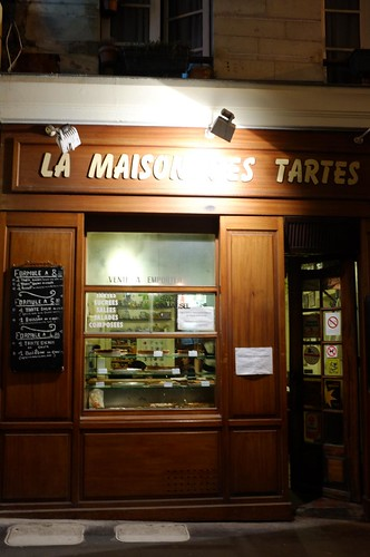 dinner at La Maison des Tartes