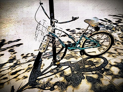Lonely Bicycle by damn_que_mala