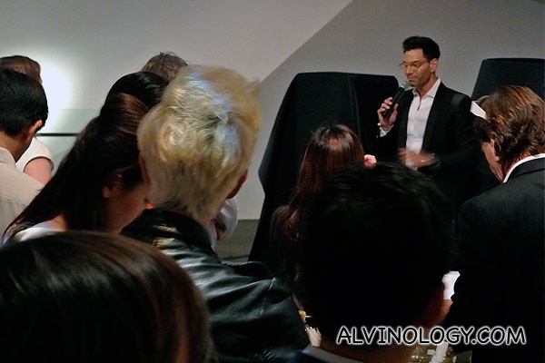 Actor Bobby Tonelli (better known as Mr Joanne Peh in Singapore) was the emcee at the event