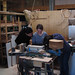 Stahlrohr biegen in der Werkstatt