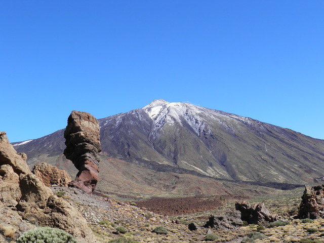 Cinchado y Pico del Teide