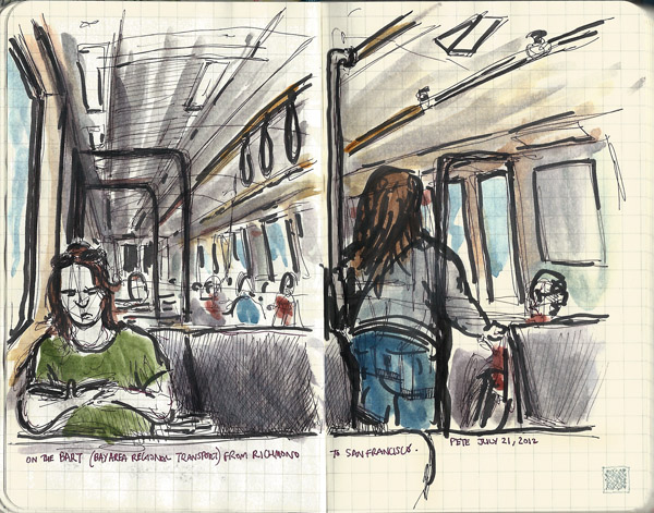 sketching on the BART