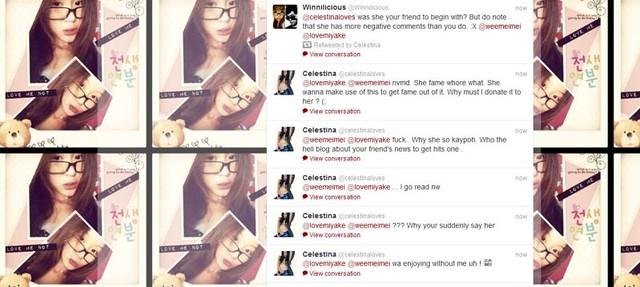Celestina's Twitter Screengrab via EDMW (Click to Enlarge)