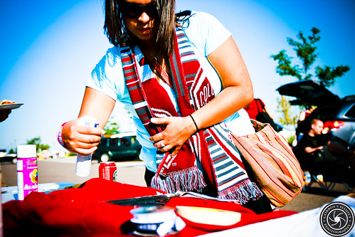 TailGate Pid Army and Class VI supporters groups 4th Aug 2012 Rapids vs Real Salt Lake by Corbin Elliott Photography