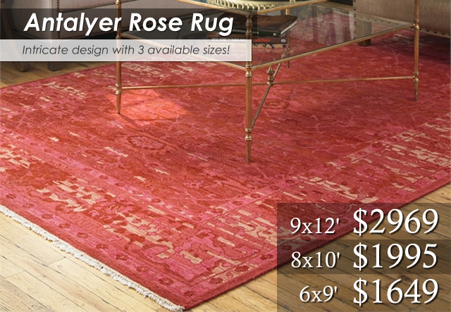 Antalyer Rose Rug