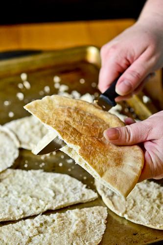 Hummus with Parmesan Herb Pita Chips 12