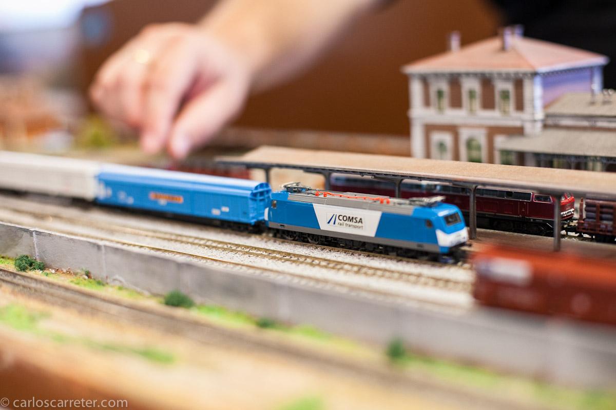 Encuentro módulos Euro-N (modelismo ferroviario)