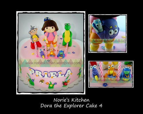 Norie's Kitchen - Dora Cake 4 by Norie's Kitchen