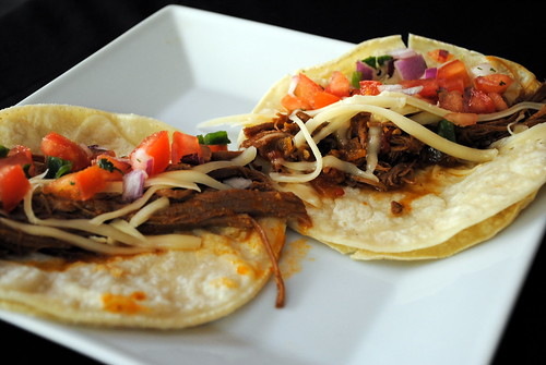 Shredded Tri-Tip Tacos with Fresh Tomato Salsa