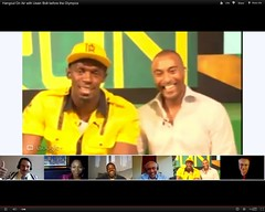 Usain Bolt at Olympics London 2012 talking about his Box Lunch