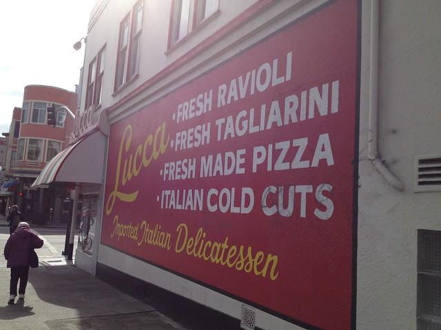 Lucca Ravioli Company, Valencia Street