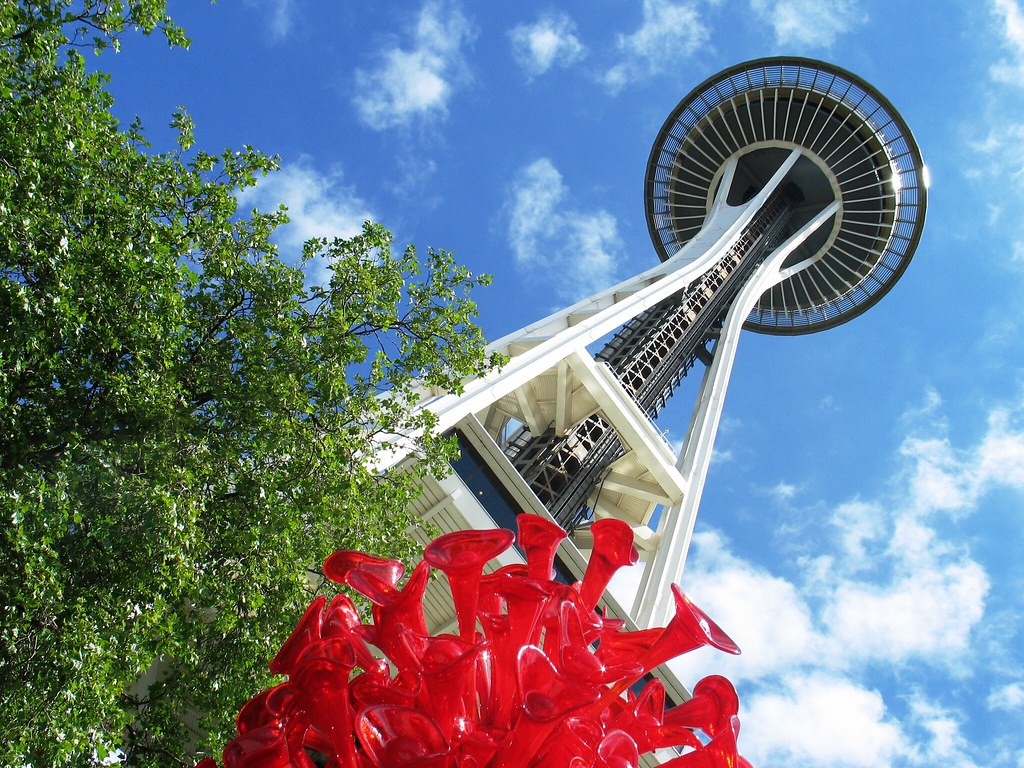 Seattle S New Chihuly Glass And Gardens In Photos