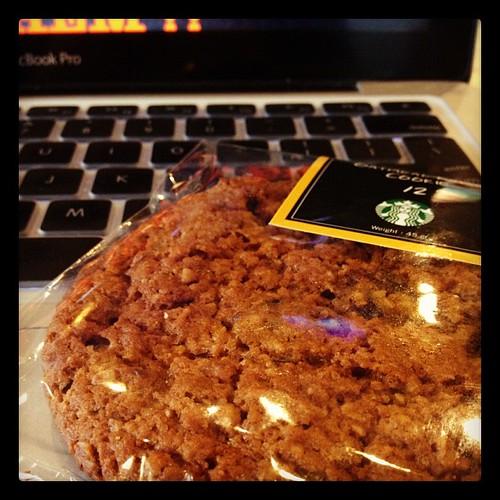 Sweet companion #snacks #starbucksnomad #afterdoubleshotespresso #norecipejuststory