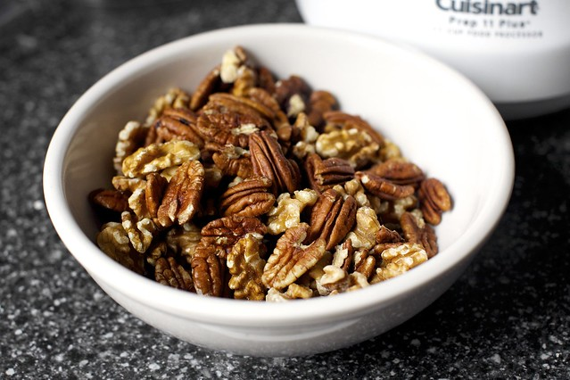 walnuts and pecans