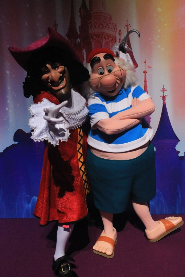 Meeting Captain Hook And . Smee - Sharing