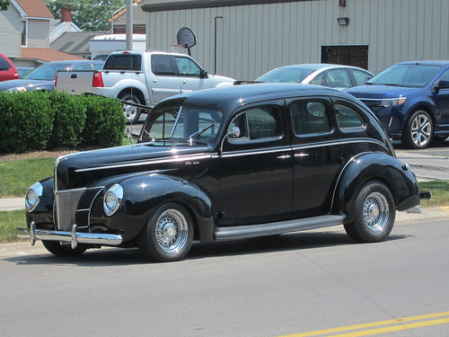1940 Ford four-door sedan