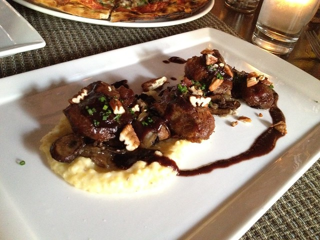 Confit pork cheeks - Social Wine Bar