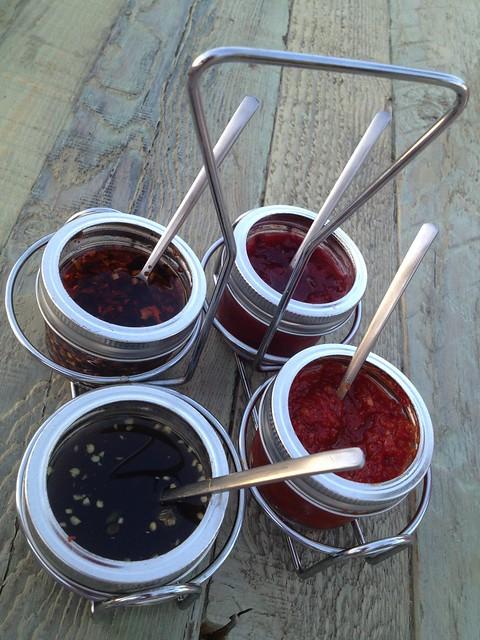 Dipping sauces - Jiao