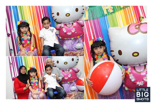 Nuraz's Hula Kitty Party!
