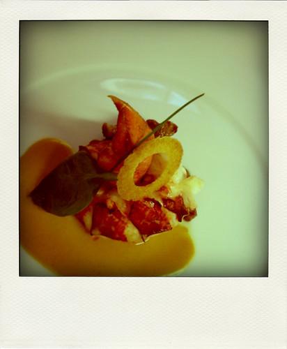 New Year lobster Ritz Paris