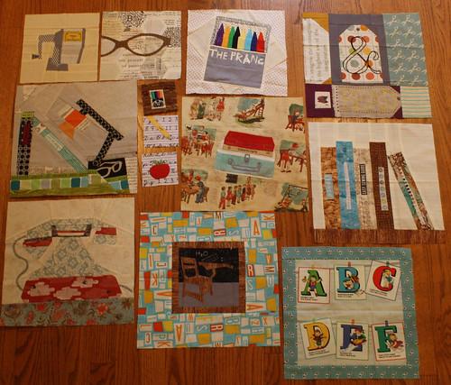 pastiche quilt blocks