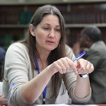 ICARDA's Barbara Rischkowsky at the Ethiopia Small Ruminant Value Chain Consultative Meeting