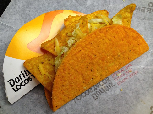 Doritos locos taco - Taco Bell
