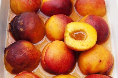 Rum Peaches