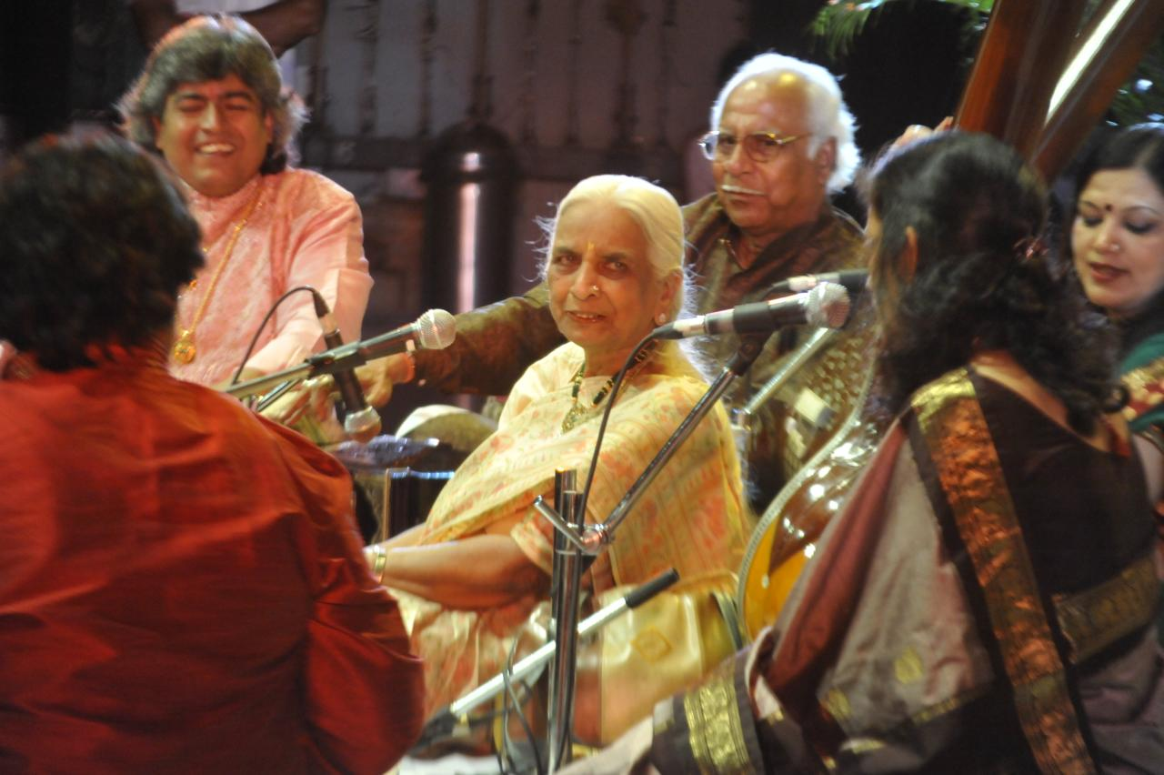 Girija Deviji at her natkat best in Thumri fest