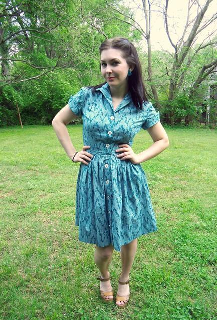 Shirtwaist Dress - no belt