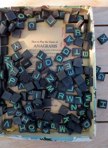 Anagrams game