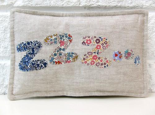 Zed pillow...
