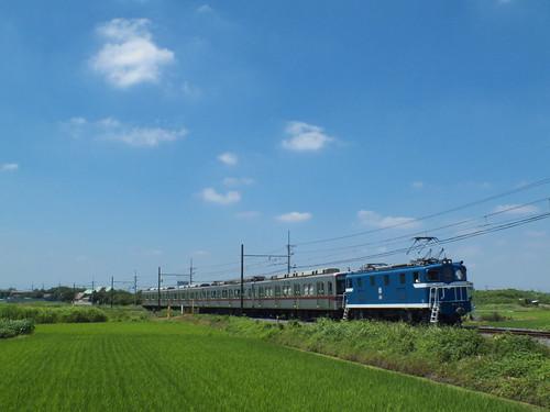 デキ103+11461F @武州荒木〜東行田