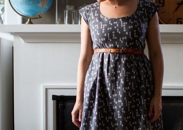 washi dress belted